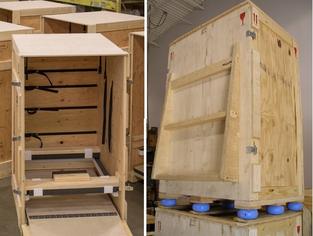 Shipping And Storage Crates Industrial Packaging